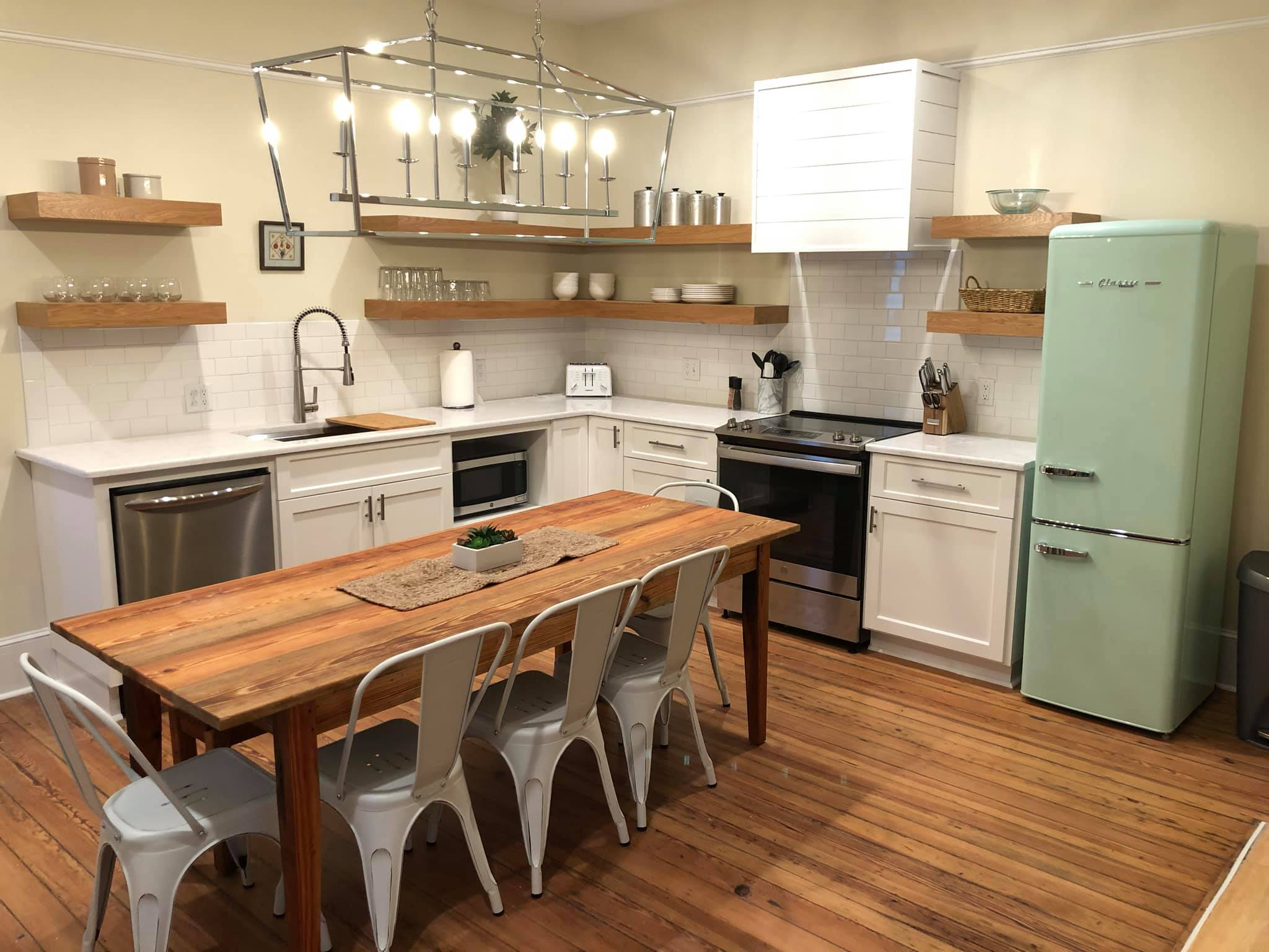 custom kitchen design built by New Haven Construction
