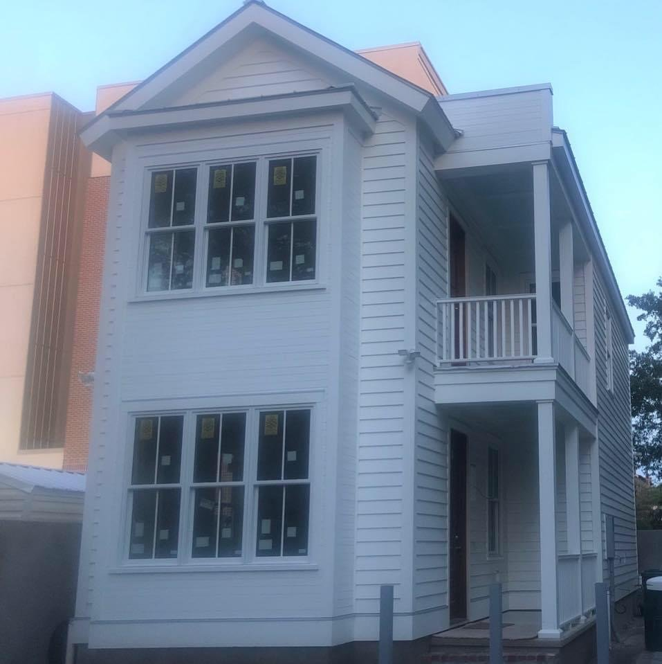 historic home renovation in downtown Charleston