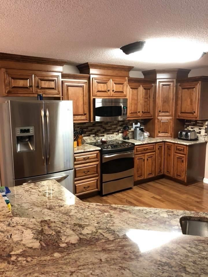 custom kitchen interior by New Haven Construction in Berkeley county