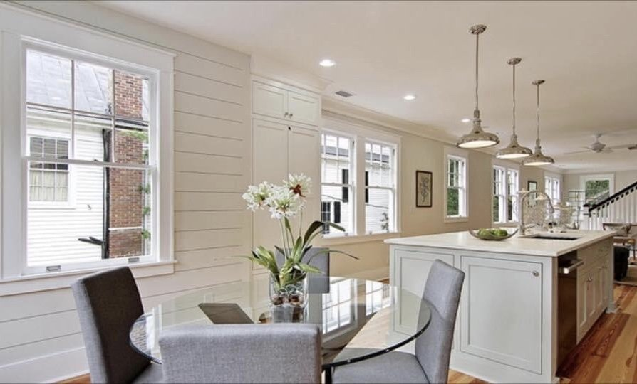 Newly renovated custom home interior by New Haven Construction