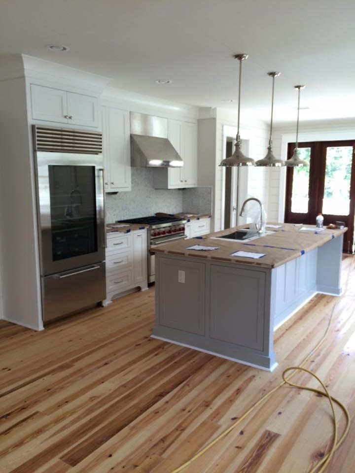 new custom home in charleston by New Haven Construction