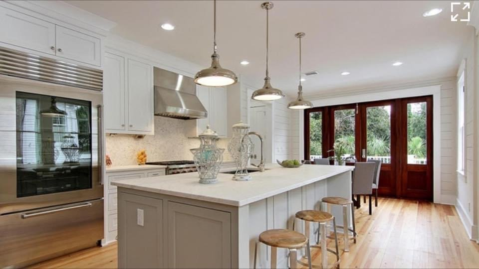 new custom kitchen built by New Haven Construction